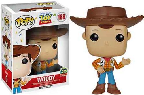 Funko Toy Story POP! Disney Woody Vinyl Figure #168 [20th Anniversary]