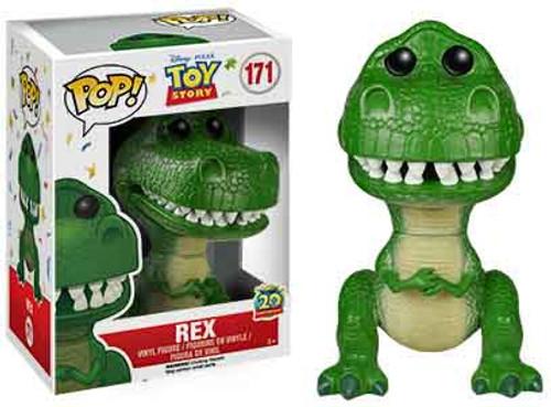 Funko Toy Story POP! Disney Rex Vinyl Figure #171 [20th Anniversary]