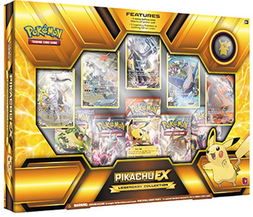 Pokemon Trading Card Game XY Pikachu EX Legendary Collection Box [5 Booster Packs, Promo Cards & Pin!]