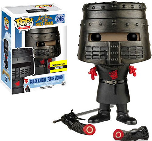 Funko Monty Python The Holy Grail POP! Movies Black Knight (Flesh Wound) Vinyl Figure #246