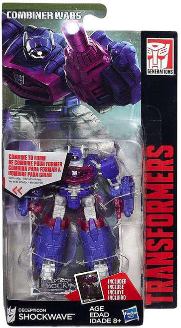 Transformers Generations Combiner Wars Shockwave Legend Action Figure