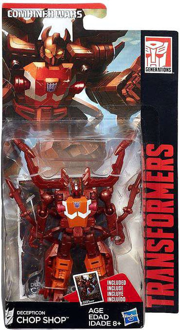 Transformers Generations Combiner Wars Chop Chop Legend Action Figure