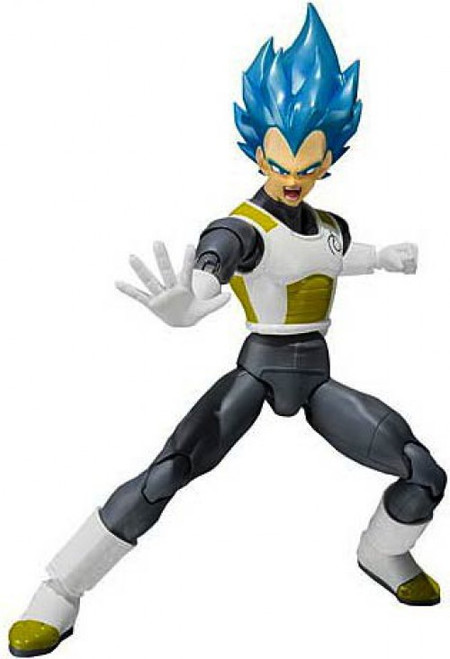 Dragon Ball Z S.H. Figuarts Super Saiyan Blue Vegeta Action Figure [Resurrection of F]