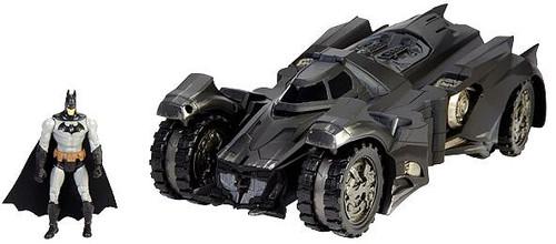 DC Comics Multiverse Arkham Knight Batmobile & Batman Exclusive Action Figure Set [Damaged Package, Mint Figures]