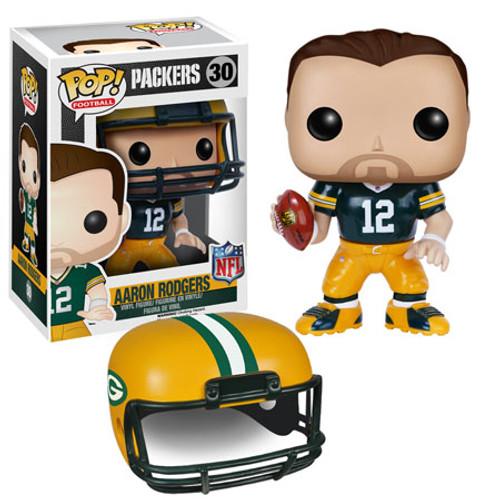 Funko NFL Green Bay Packers POP! Sports Football Aaron Rodgers Vinyl Figure #30 [Green Jersey]