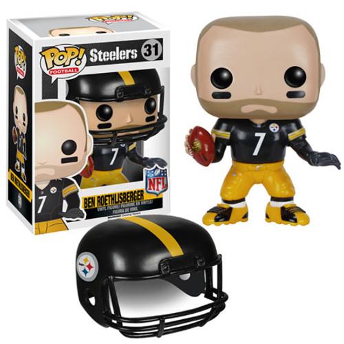Funko NFL Pittsburgh Steelers POP! Football Ben Roethlisberger Vinyl Figure #31