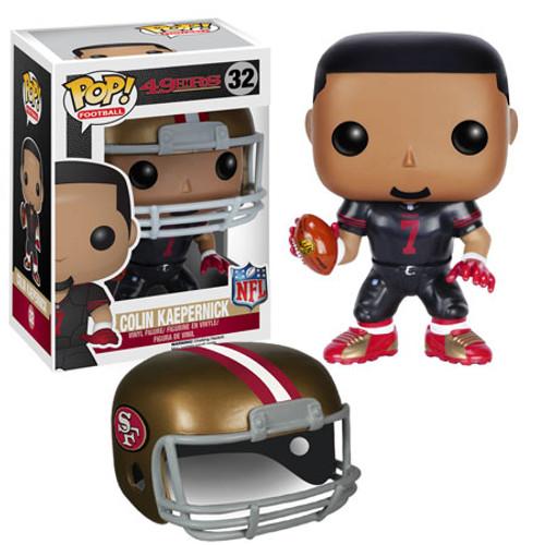 Funko NFL San Francisco 49ers POP! Sports Football Colin Kaepernick Vinyl Figure #32 [Black Uniform]