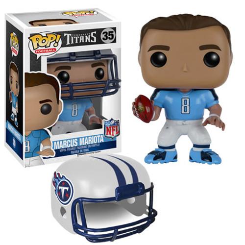 Funko NFL Tennessee Titans POP! Sports Football Marcus Mariota Vinyl Figure #35 [Blue Jersey]