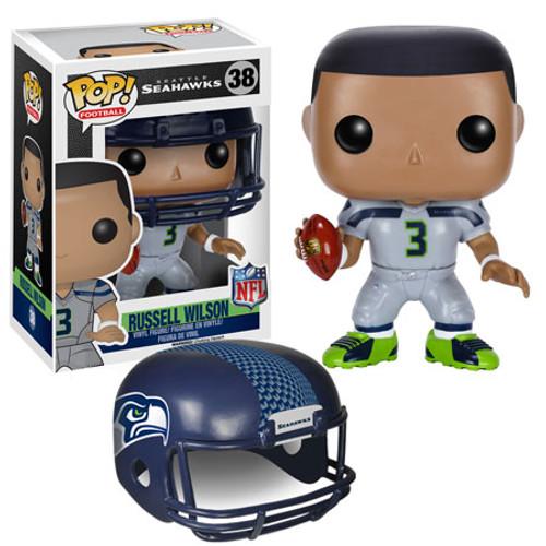Funko NFL Seattle Seahawks POP! Sports Football Russell Wilson Vinyl Figure #38 [White Uniform]