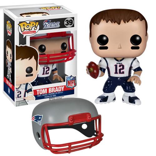 Funko NFL New England Patriots POP! Sports Football Tom Brady Vinyl Figure #39 [White Jersey]