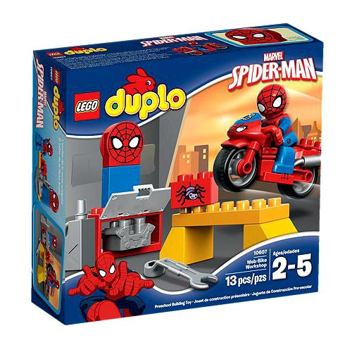 LEGO Duplo Spider-Man Web-Bike Workshop Set #10607