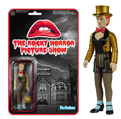 Funko The Rocky Horror Picture Show ReAction Columbia Action Figure