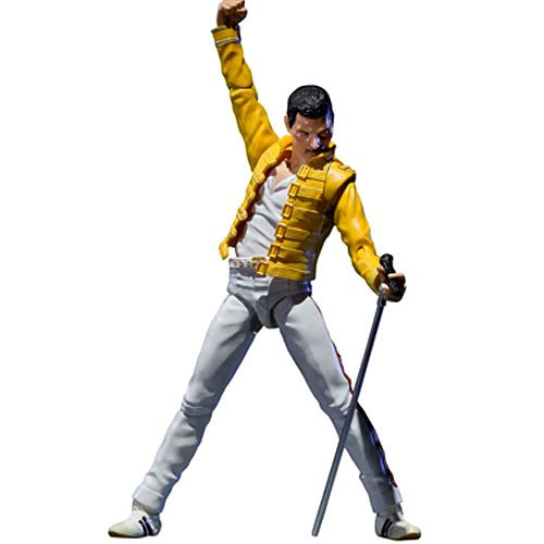 Music S.H. Figuarts Freddie Mercury Action Figure