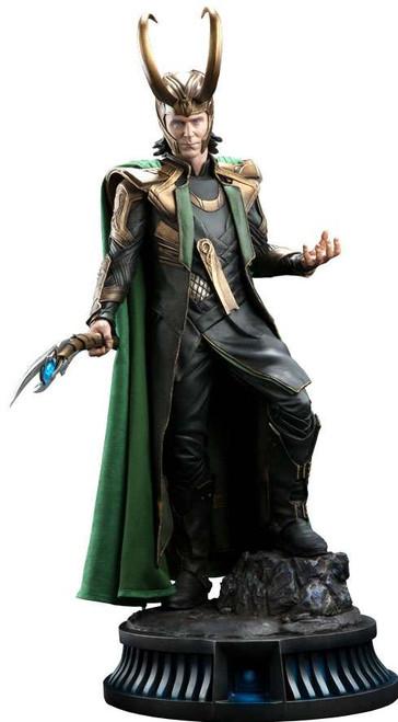 Marvel Premium Format Loki Statue