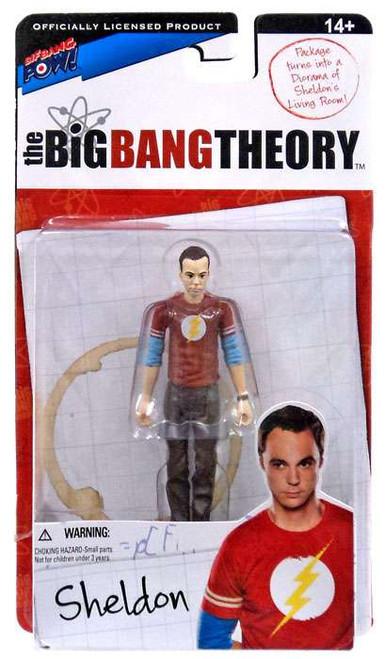 The Big Bang Theory Series One Sheldon Action Figure [Flash]