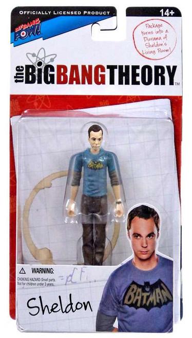The Big Bang Theory Series One Sheldon Action Figure [Batman]