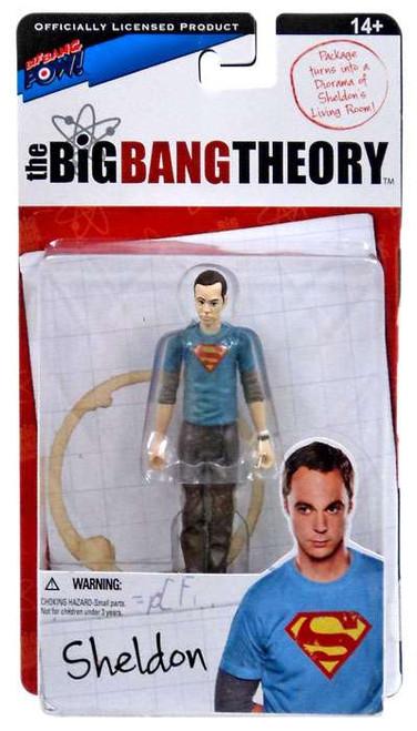 The Big Bang Theory Series One Sheldon Action Figure [Superman]