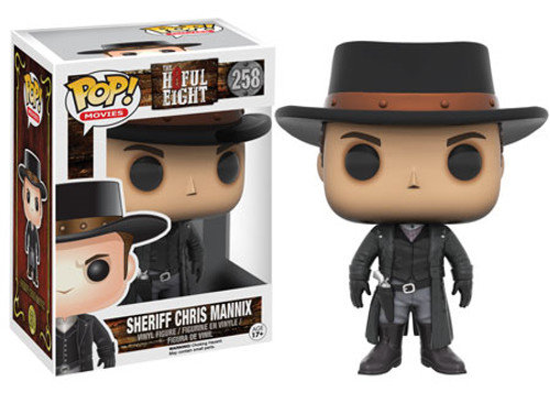 Funko The Hateful Eight POP! Movies Sheriff Chris Mannix Vinyl Figure #258