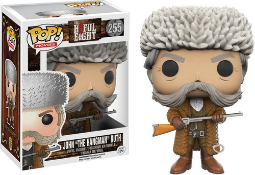 "Funko The Hateful Eight POP! Movies John ""The Hangman"" Ruth Vinyl Figure #255"