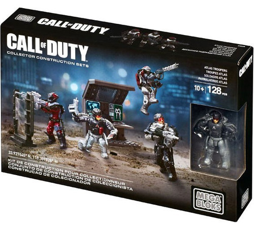 Mega Bloks Call of Duty Atlas Troopers Set #06887