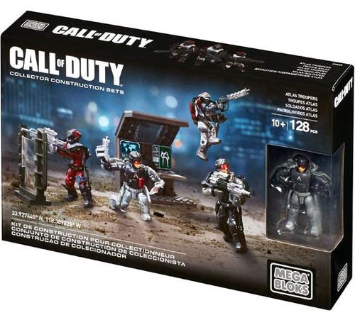 Mega Bloks Call of Duty Atlas Troopers Set #06887
