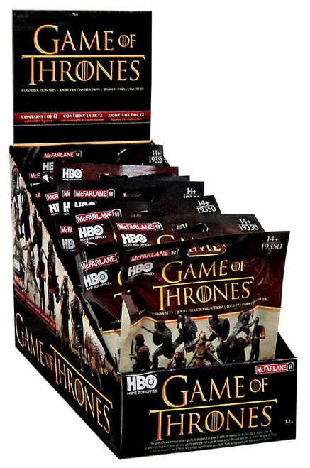 McFarlane Toys Game of Thrones Series 1 Mystery Box [24 Packs]