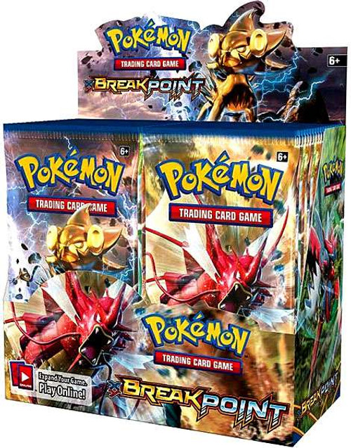 Pokemon Trading Card Game XY BREAKpoint Booster Box [36 Packs]
