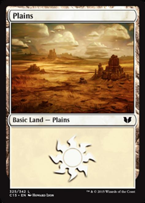 MtG Commander 2015 Land Plains #323
