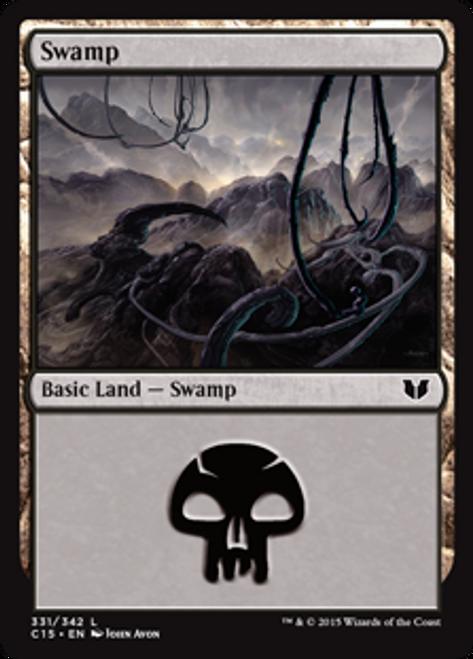 MtG Commander 2015 Land Swamp #331