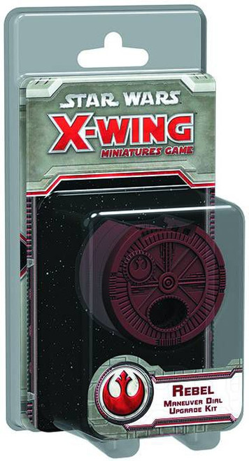 Star Wars X-Wing Miniatures Game Rebel Maneuver Dial Upgrade Kit Accessory