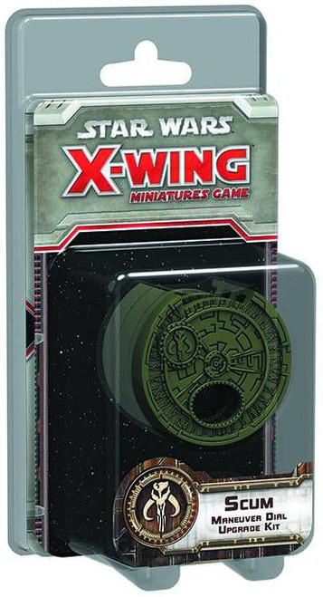 Star Wars X-Wing Miniatures Game Scum Maneuver Dial Upgrade Kit Accessory