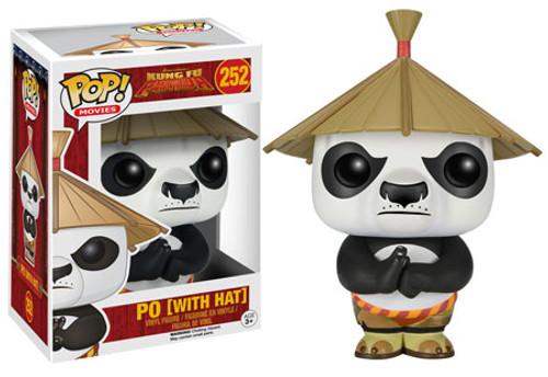 Funko Kung Fu Panda POP! Movies Po Vinyl Figure #252 [With Hat]