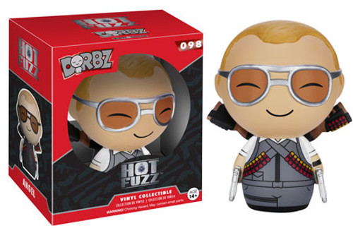 Funko Hot Fuzz Dorbz Angel Vinyl Figure #098