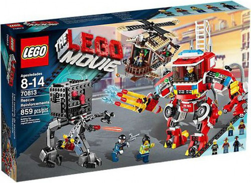 The LEGO Movie Rescue Reinforcements Set #70813 [Damaged Package]