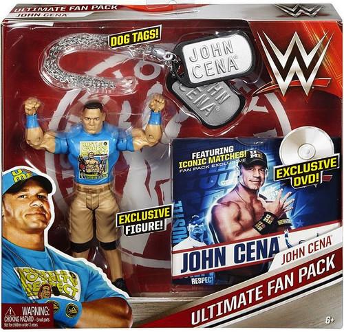 WWE Wrestling John Cena 6-Inch Ultimate Fan Pack