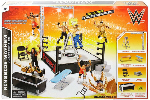 WWE Wrestling Ringside Mayhem Superstar Ring
