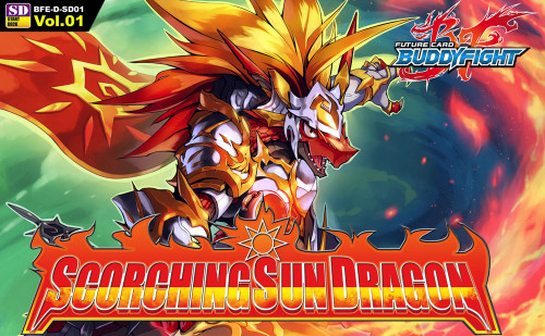 Future Card BuddyFight Trading Card Game Scorching Sun Dragon Trial Deck BFE-D-SD01