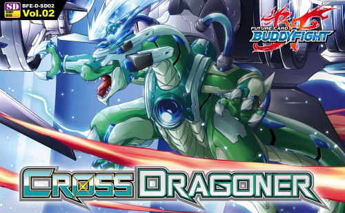 Future Card BuddyFight Trading Card Game Cross Dragoner Trial Deck BFE-D-SD02