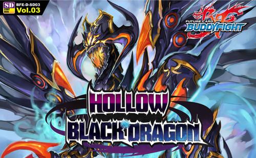 Future Card BuddyFight Trading Card Game Hollow Black Dragon Trial Deck BFE-D-SD03