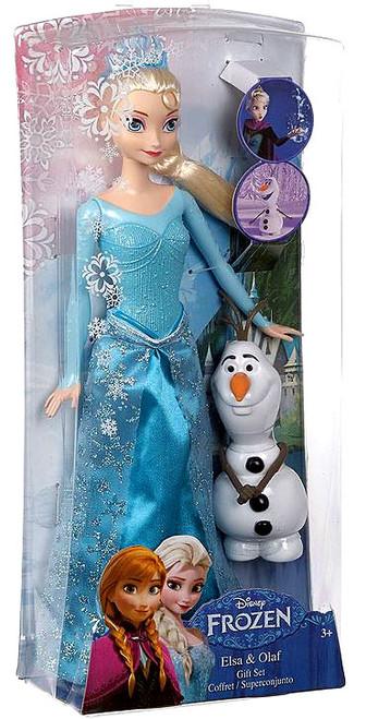 Disney Frozen Elsa & Olaf Doll Set
