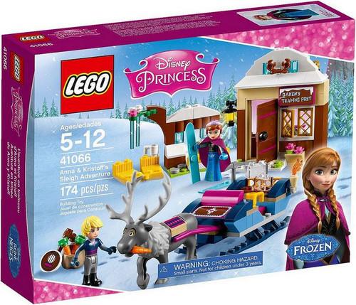 LEGO Disney Princess Disney Frozen Anna & Kristoff's Sleigh Adventure Set #41066
