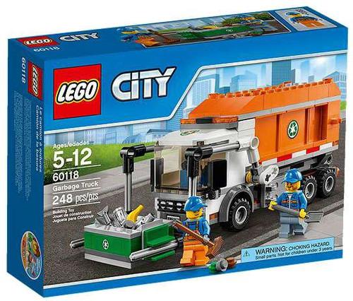 LEGO City Garbage Truck Set #60118