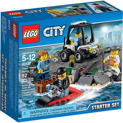 LEGO City Prison Island Starter Set #60127