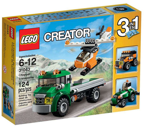 LEGO Creator Chopper Transporter Set #31043
