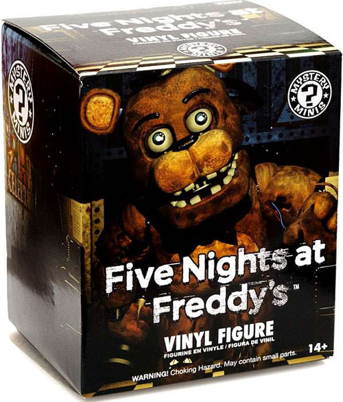 Funko Five Nights at Freddy's Mystery Minis Series 1 Mystery Pack [1 RANDOM Figure]