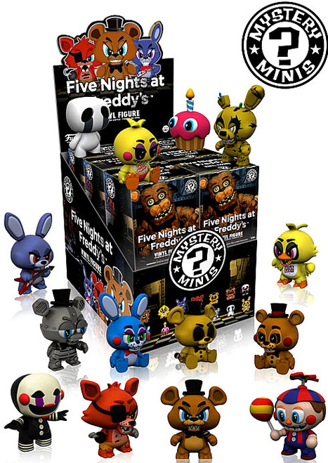 Funko Five Nights at Freddy's Mystery Minis Series 1 Mystery Box [12 Packs]