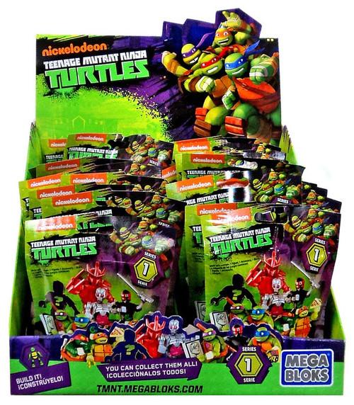 Mega Bloks Teenage Mutant Ninja Turtles Animation Series 1 Mystery Box [24 Packs]