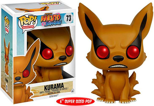 Funko Naruto POP! Anime Kurama 6-Inch Vinyl Figure #73 [Super-Sized]
