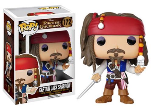 Funko Pirates of the Caribbean POP! Disney Captain Jack Sparrow Vinyl Figure #172