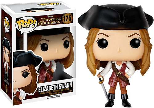 Funko Pirates of the Caribbean POP! Disney Elizabeth Swann Vinyl Figure #175